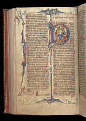 Samuel and David, in the Penwortham Breviary